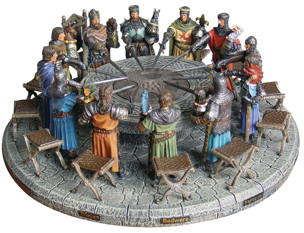 Dekoracija - Re artu ei cavalieri della tavola rotonda ...